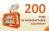 200 items of manufactured equipment