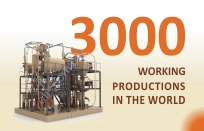 3000 working productions in the world