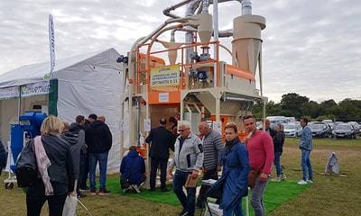 Visitors to the AGRO SHOW 2019 exhibition at the Optimatik-K-15